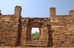 圣・ Ignacio废墟  免版税库存照片