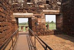 圣・ Ignacio废墟  图库摄影