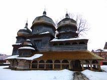圣乔治东正教在德罗霍贝奇,乌克兰 免版税图库摄影