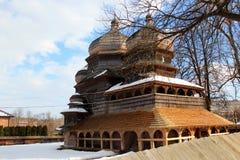 圣乔治东正教在德罗霍贝奇,乌克兰 免版税库存图片