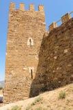 圣乔治古老堡垒的` s塔 库存照片