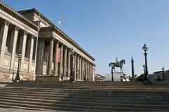 圣乔治大厅,利物浦,英国 库存图片