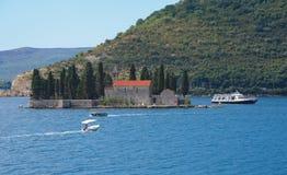 圣乔治或死的海岛海岛  免版税库存照片