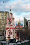 圣乔治教会普斯克夫山的 免版税库存图片