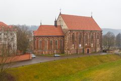 圣乔治教会, Bernardine修道院复合体 库存图片