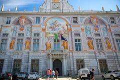 圣乔治最旧的欧洲银行在意大利 库存图片