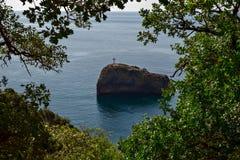 圣乔治海岛在克里米亚 库存图片