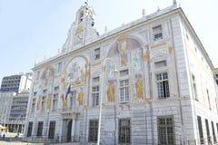 圣乔治,赫诺瓦,意大利宫殿  库存图片