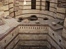 圣乔治3月Gergis教会废墟  库存图片