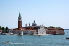 圣乔治Maggiore在威尼斯,意大利 免版税图库摄影
