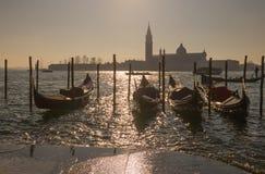 圣乔治Maggiore教会在威尼斯意大利 库存照片
