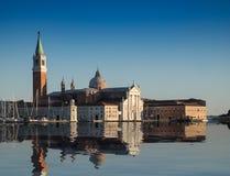 圣乔治Maggiore,著名地标在威尼斯,意大利 库存图片
