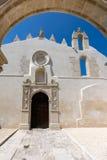 圣乔瓦尼中世纪诺曼底教会的废墟  库存照片