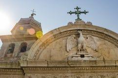 圣乔瓦尼Evangelista教会在威尼斯 免版税库存照片