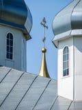 圣乔治修道院在Meshchovsk卡卢加州地区俄国镇  免版税库存图片