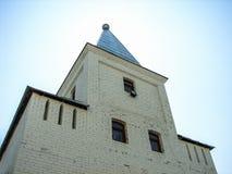 圣乔治修道院在Meshchovsk卡卢加州地区俄国镇  免版税库存照片