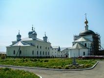 圣乔治修道院在Meshchovsk卡卢加州地区俄国镇  库存照片