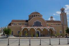 圣乔治大教堂,帕拉利姆尼,塞浦路斯 免版税库存照片