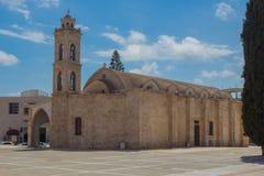 圣乔治大教堂,帕拉利姆尼,塞浦路斯 库存照片