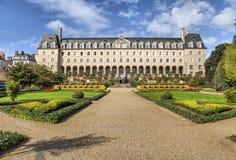 圣乔治宫殿在雷恩,法国 免版税库存照片