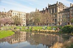 圣乔治广场爱丁堡 免版税库存照片