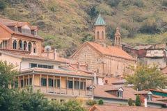 圣乔治或Karapi Surb在老T的Gevorg Yekeghetsi教会  免版税库存照片