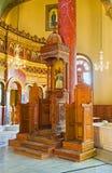 圣乔治教会内部  免版税库存图片