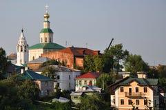 圣乔治教会在弗拉基米尔,俄罗斯 库存图片