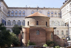 圣乔治教会在索非亚 图库摄影