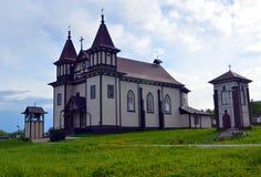 圣乔治教会,在1899年建造,白俄罗斯 免版税库存照片