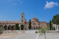 圣乔治教会,帕拉利姆尼,塞浦路斯 免版税库存照片