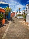 圣乔治街百慕大 免版税库存照片
