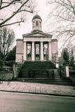 圣乔治霍尔布里斯托尔门面 免版税库存照片