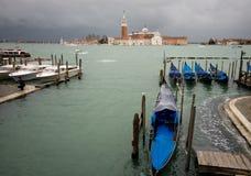 圣乔治Maggiore大教堂在威尼斯 免版税库存图片