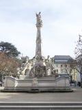 圣乔治` s喷泉,实验者 免版税图库摄影