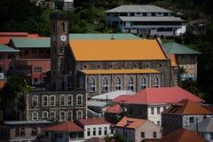 圣乔治` s大教堂,格林纳达 免版税图库摄影