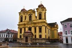 圣乔治` s大教堂Piata Unirii 库存照片