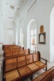 圣乔治` s教会是19世纪英国国教的教堂在市乔治市在槟榔岛,马来西亚 图库摄影