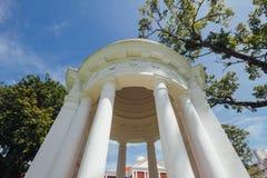 圣乔治` s教会是19世纪英国国教的教堂在市乔治市在槟榔岛,马来西亚 免版税库存图片