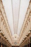圣于贝尔皇家画廊在布鲁塞尔 免版税库存照片