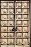 圣亚历山大・涅夫斯基大教堂,索非亚的门 免版税图库摄影