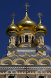 圣亚历山大・涅夫斯基-雅尔塔大教堂  库存照片
