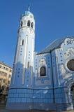 圣伊丽莎白,布拉索夫教会。 库存照片