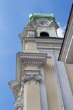 圣伊丽莎白,布拉索夫,斯洛伐克教会  免版税库存图片