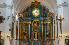 圣伊格纳西奥教会,布宜诺斯艾利斯,阿根廷 免版税库存照片