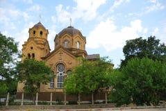 圣伊莱贾教会在叶夫帕托里亚 克里米亚 免版税库存图片