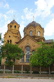 圣伊莱贾教会在叶夫帕托里亚 克里米亚 库存图片