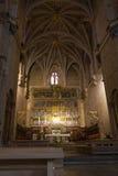 圣伊西多大教堂的内部  免版税图库摄影