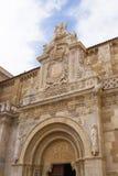 圣伊西多里,利昂西班牙- Basilica de圣I牧师会主持的教堂  免版税库存图片