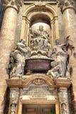 圣伯多禄内部寺庙  梵蒂冈 免版税图库摄影